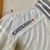 CASTELBAJAC カステルバジャック 裏メッシュ 2ウェイフルジップブルゾン オフホワイト Lサイズ  23610-108