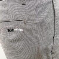 Black&White ブラックアンドホワイト メンズ ワンタック スラックス  5104GS/CA