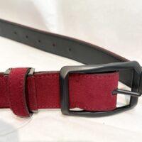 Munsingwear マンシングウェア メンズ レッド ベルト AM6043